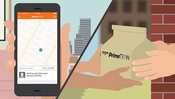Amazon Prime Now is available in San Antonio. - AMAZON
