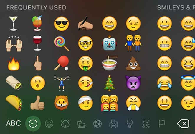 New emojis to type all our feelings out with are here! - APPLE
