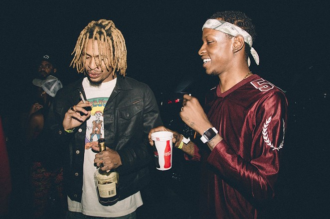 The Underachievers, AK (left) and Issa Gold (right) - I'MFATTERTHANYOU.COM