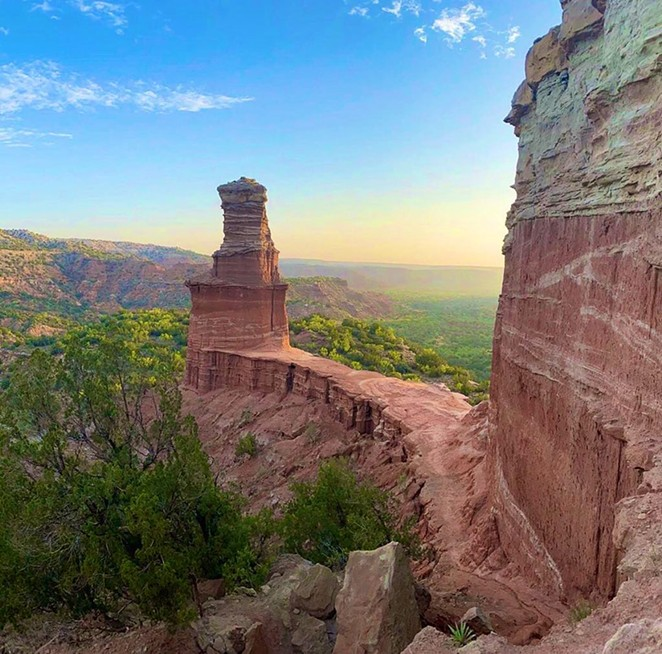 Palo Duro Canyon State Park - FACEBOOK/ TEXAS PARKS AND WILDLIFE