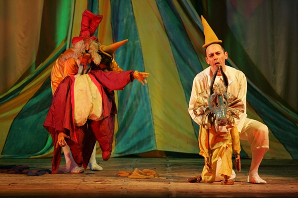 Pinocchio being performed at Trinity University last year. - COURTESY