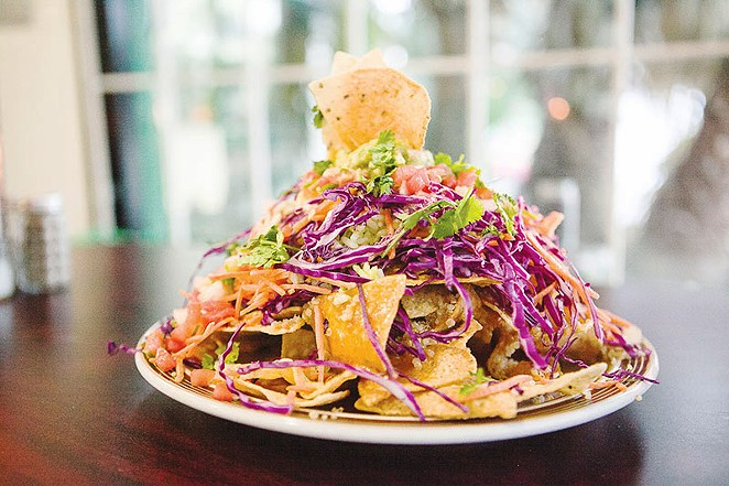 Yep, the nachos still hit the spot. - DAN PAYTON