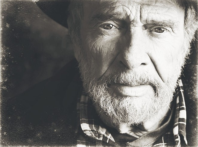 Merle Haggard is at Floore's on Friday. - COURTESY