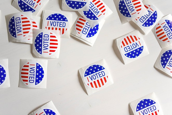Texas Democratic Party officials said they were surprised to learn that Republican voters were also eligible for free stickers at the polls this election cycle. - PEXELS / ELEMENT5 DIGITAL