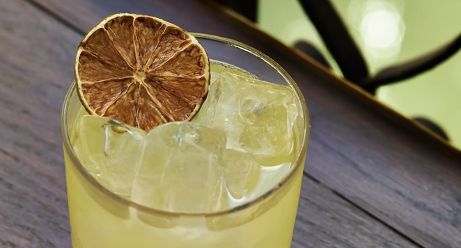The Cradle of Life — a refreshing gin and cucumber tipple — is a new bar offering at The Esquire Tavern. - COURTESY