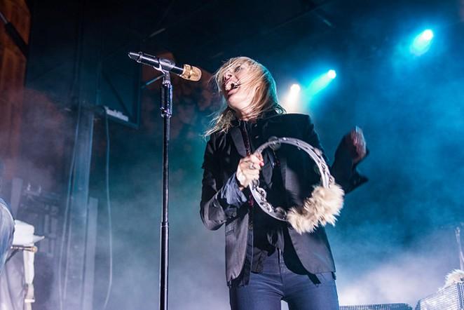 Mesmerizing Metric frontwoman Emily Haines. - JAIME MONZON