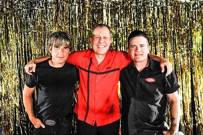 The trio of Scott Churilla, Jim Heath and Jimbo Wallace. - COURTESY