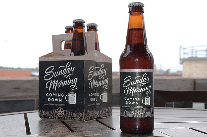 Ranger Creek's Sunday Morning Coming Down English Strong Ale - BRYAN RINDFUSS