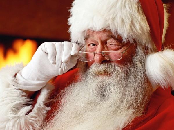 *insert bad joke about sitting on Santa's lap here* - WIKIPEDIA