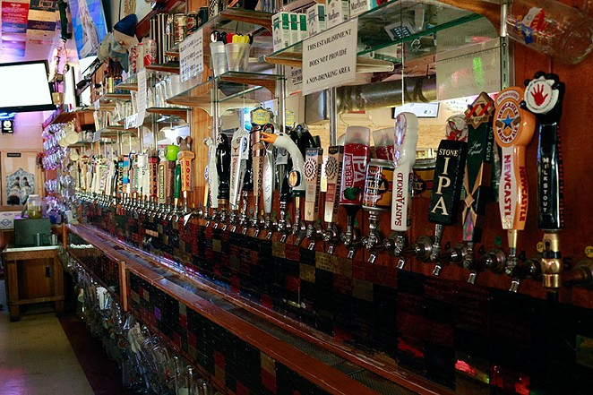 There are 54 brews and counting to choose from. - ALBERT GONZALES