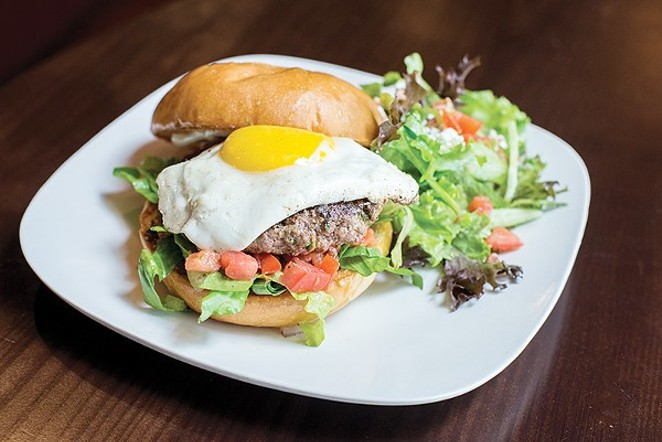This Ba Ba burger won't put you to sleep. - DAVID RANGEL