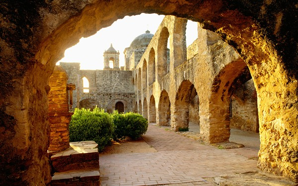 The Missions' World Heritage Site designation has caught the attention of travel experts. - GEORGE H.H. HUEY