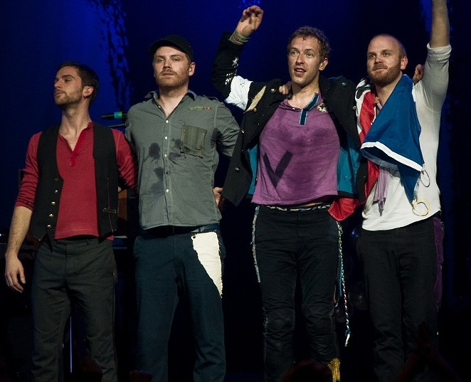 Coldplay say goodbye with Head Full of Dreams - WIKIMEDIA
