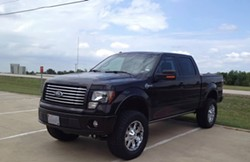 This vehicle looks similar to Tanya Couch's missing pick-up truck. - TARRANT COUNTY SHERIFF'S OFFICE | FACEBOOK