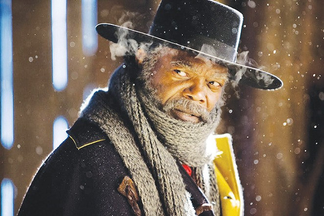 Samuel L. Jackson returns for Tarantino's latest.