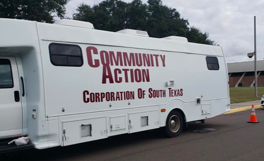 Community Action Corporation of South Texas introduced this mobile unit to reach people who live in remote areas, lack transportation or don't regularly see a doctor. - FACEBOOK / COMMUNITY ACTION HEALTH CENTER