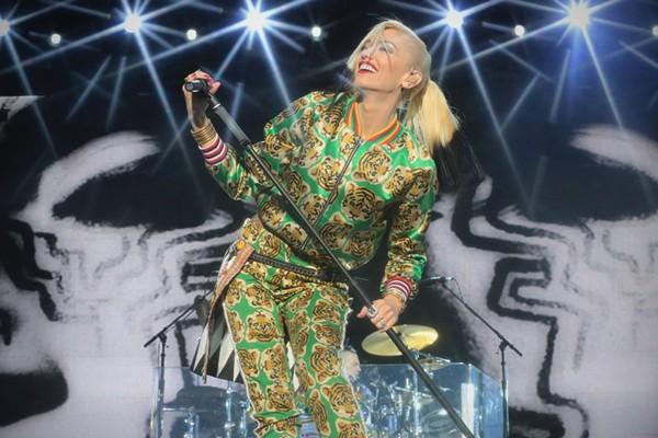 Gwen Stefani of No Doubt at the 2015 BottleRock Napa Valley Festival - VIA FACEBOOK