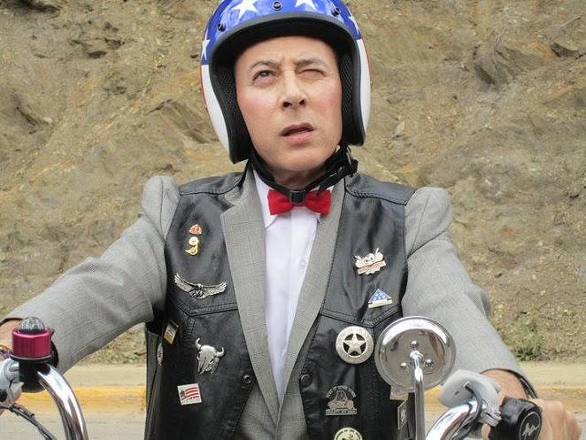 Pee-Wee rides again! - VIA FACEBOOK