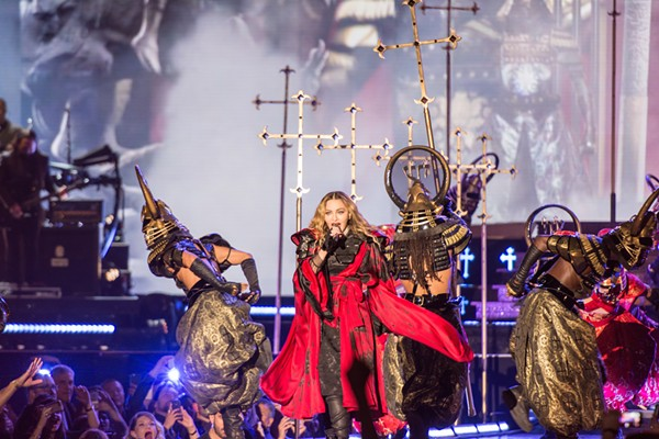 Welcome to the Church of Madonna - JAIME MONZON