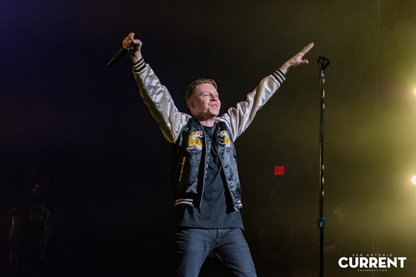 Macklemore embraces San Anto love - JAIME MONZON