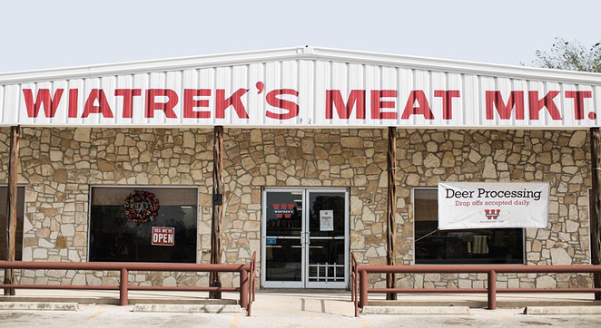 The flagship location of Wiatrek's Meat Market in Poth, Texas. - INSTAGRAM / WIATREKSMEATMARKET