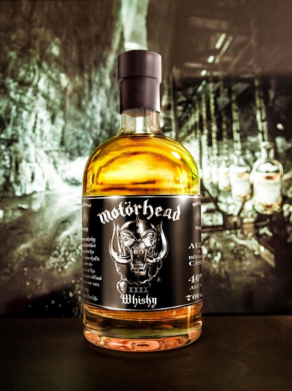 The Motörhead commemorative 40th anniversary bottle - VIA FACEBOOK