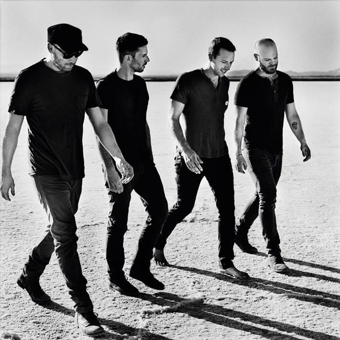 Coldplay, not David Bowie. - ANTON CORBIJN