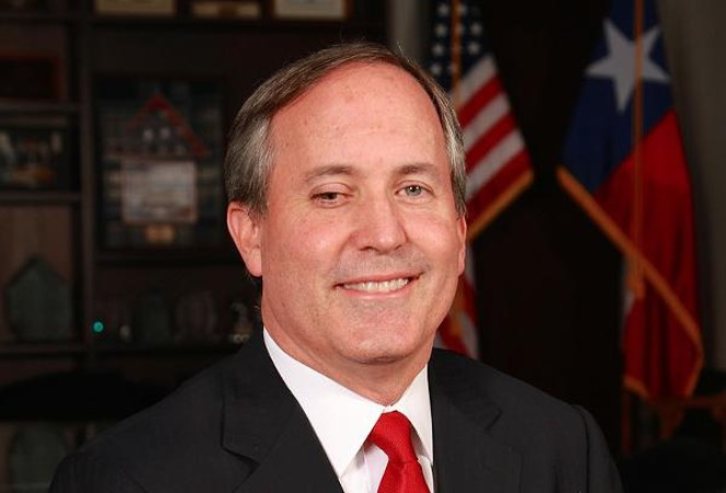 Texas Attorney General Ken Paxton - COURTESY