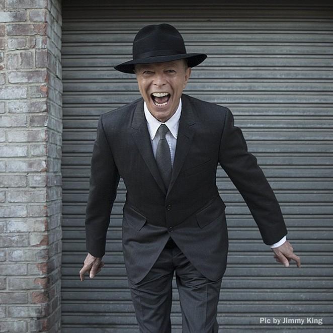 The inimitable David Bowie - COURTESY
