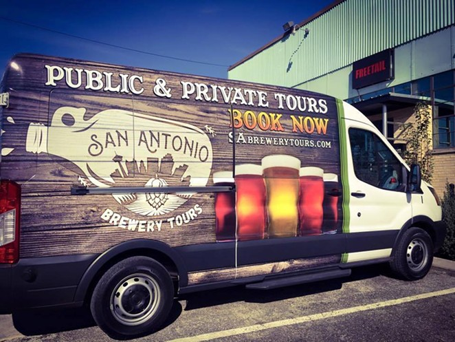 FACEBOOK/SAN ANTONIO BREWERY TOURS