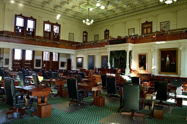 The Texas Senate Chamber - WIKIMEDIA