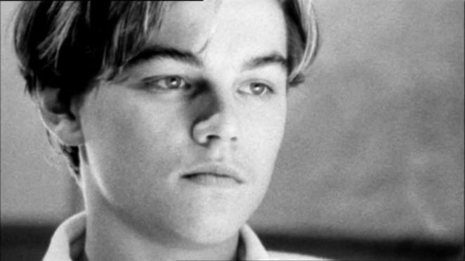 DiCaprio as the struggling, conflicted adolescent - VIA FACEBOOK
