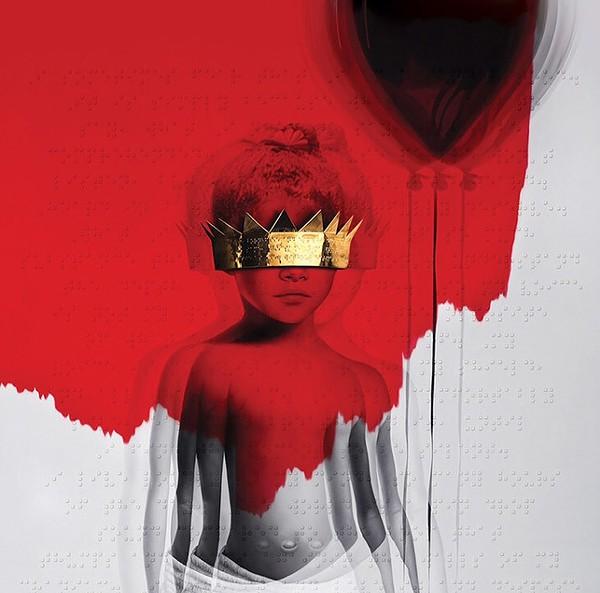 The Roy Nachum-created cover for Rihanna's ANTI - COURTESY