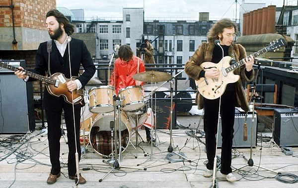 One of the most famous moments from Beatles' history - COURTESY