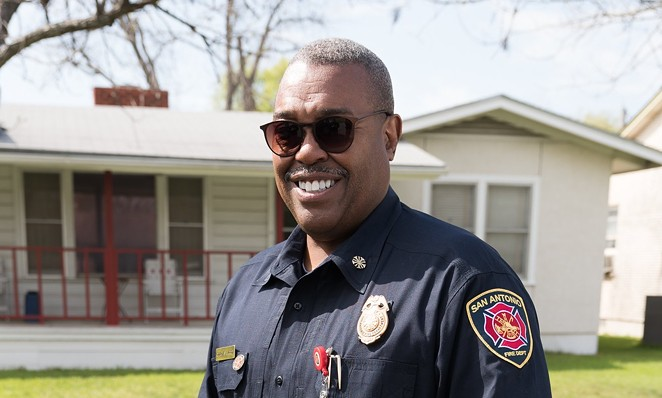 San Antonio Fire Chief Charles Hood - TWITTER / @SATXFIRE