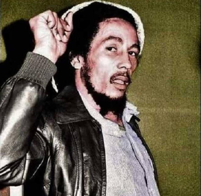 Bob Marley - VIA FACEBOOK