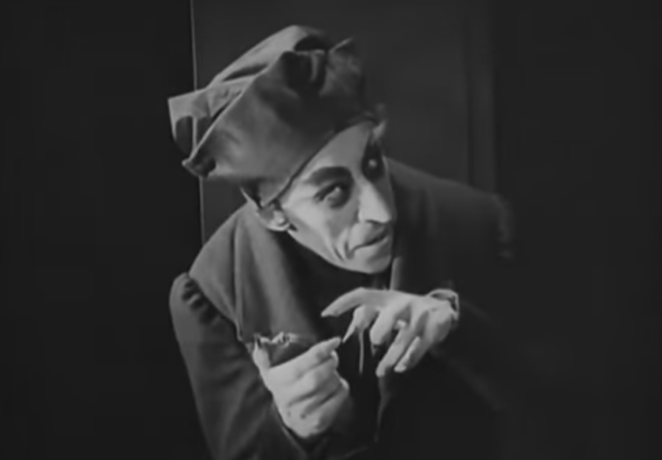 Orlok in the pale, sickly flesh - YOUTUBE