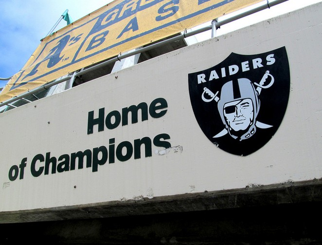 The Oakland Raiders may play the Houston Texans in Mexico City next season. - FLICKR CREATIVE COMMONS (ROCOR)