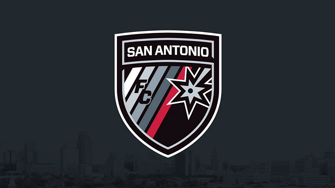 The newly unveiled San Antonio FC logo. - SAN ANTONIO FC/TWITTER
