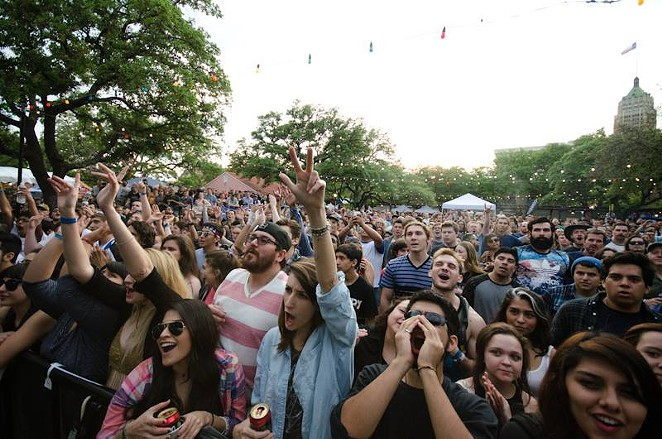 The crowd at last year's Maverick Music Festival - FACEBOOK