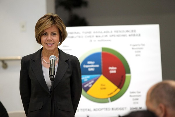 City Manager Sheryl Sculley is up for a raise and a contract extension. - CITY OF SAN ANTONIO/FACEBOOK