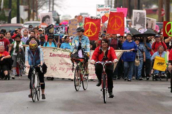 ANTONIA PADILLA | SAN ANTONIO INTERNATIONAL WOMAN'S DAY MARCH & RALLY