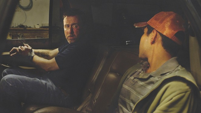 Tim Roth stars as an ATF agent kidnapped by a young gun smuggler (Kristyan Ferrer) in 600 Miles.