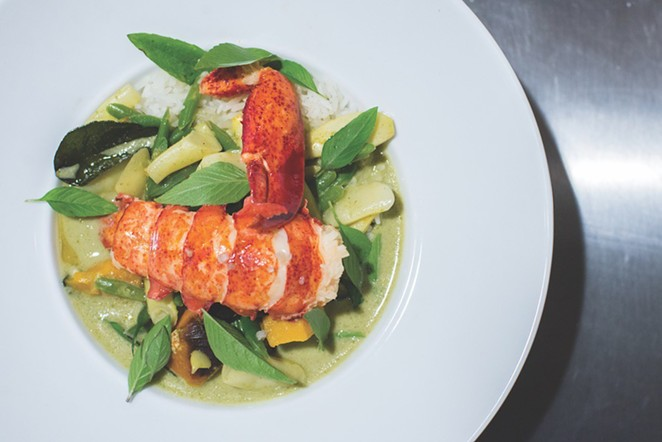 Go try all of the seafood at Rebelle. Right. Now. - DAVID RANGEL