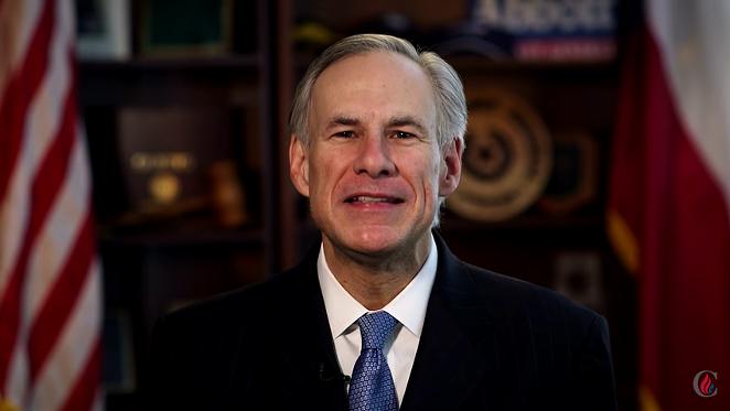 Texas Gov. Greg Abbott endorses Sen. Ted Cruz. - YOUTUBE SCREENSHOT/CRUZ FOR PRESIDENT