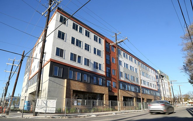 The Museum Reach Lofts, 1500 N. St. Mary's St., began receiving its first residents this week. - BEN OLIVO / SA HERON