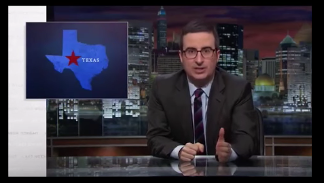 If we quit electing crazy people, we will stop showing up on these programs. - VIA YOUTUBE/LAST WEEK TONIGHT WITH JOHN OLIVER