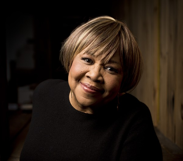Mavis Staples, now 75. - COURTESY