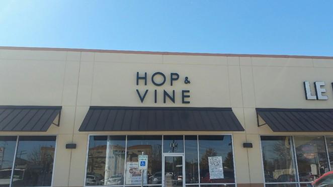 HOP AND VINE/FACEBOOK