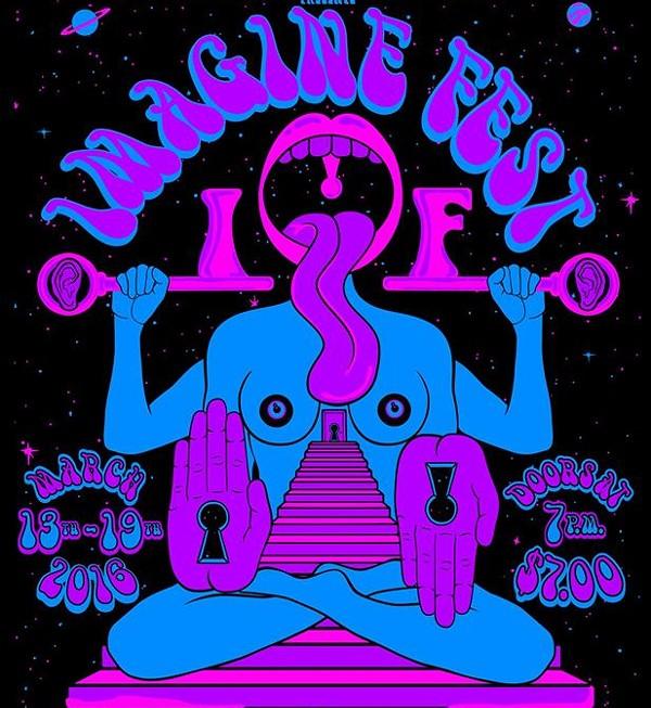Poster for Imagine Fest - ART BY JOHN DESIGN